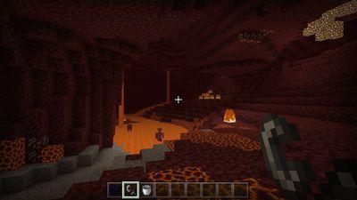 The Netherworld in Minecraft