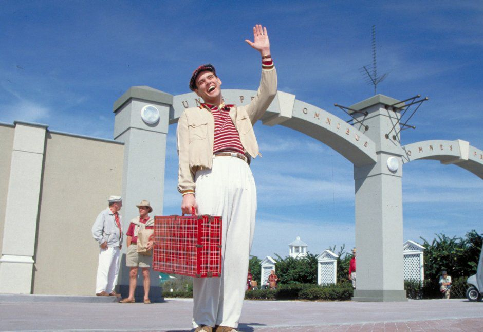Promotional image for the film The Truman Show