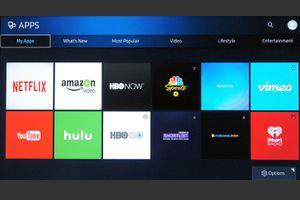 Samsung Smart TV Apps Example