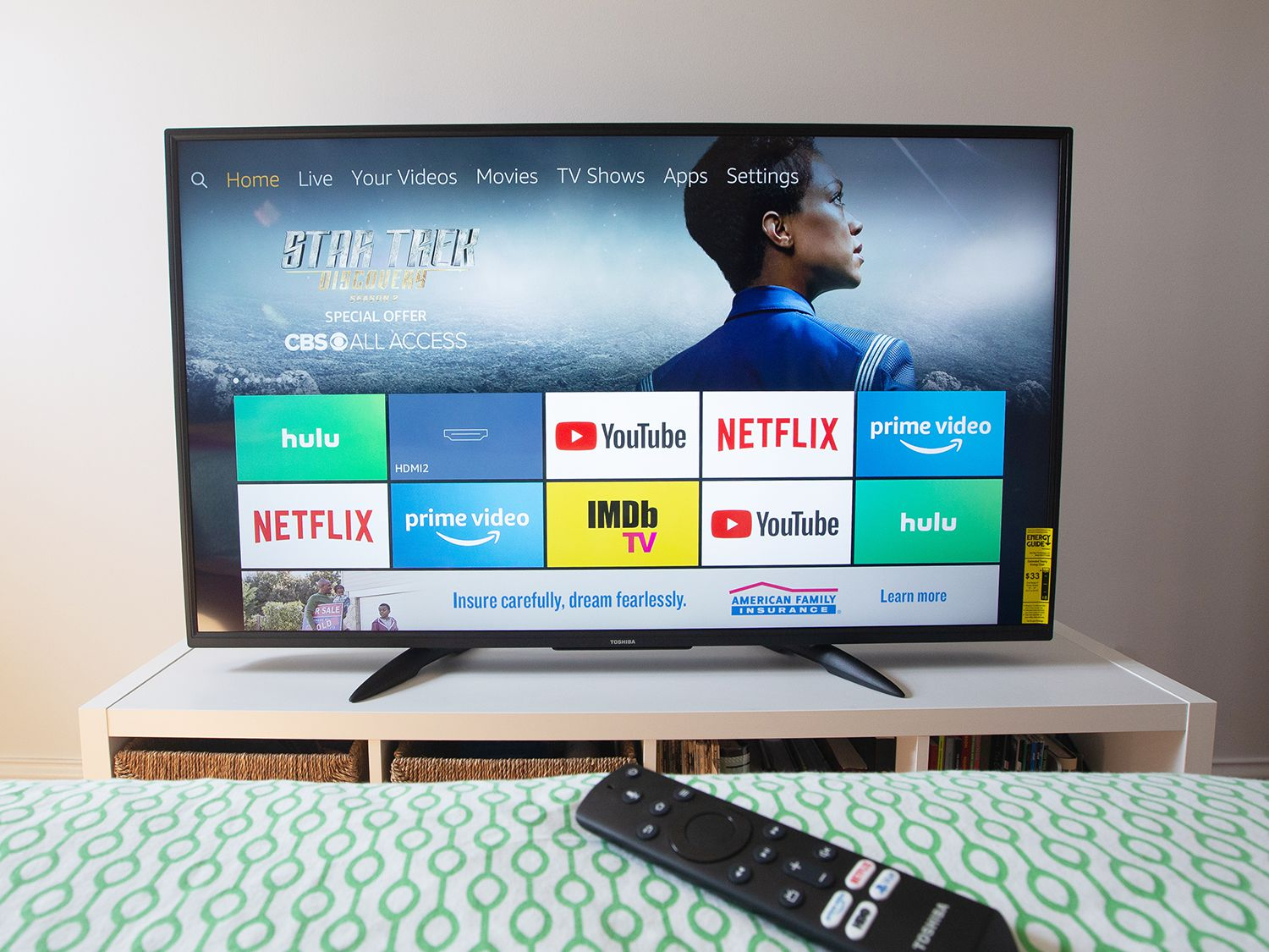 Toshiba 55lf711u20 55 Inch Fire Tv Edition Review Ideal For Amazon Prime Members