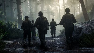 Screenshot from Call of Duty WWII