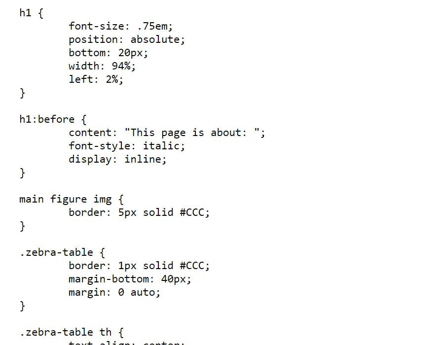 Property Definition Of Css Property
