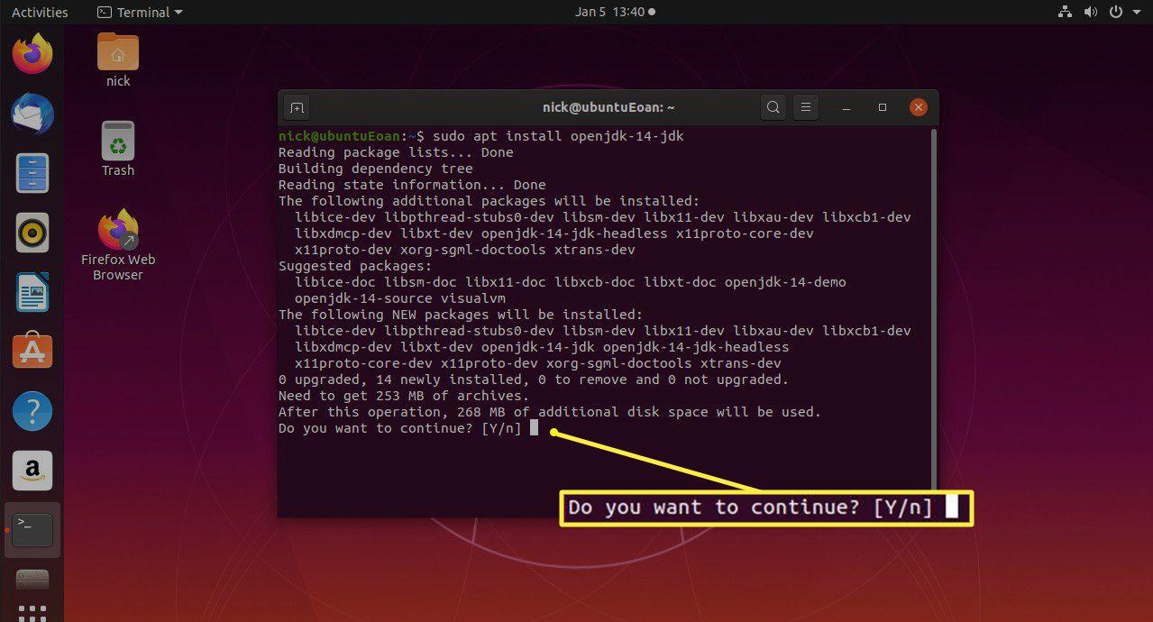 Ubuntu install Java JDK