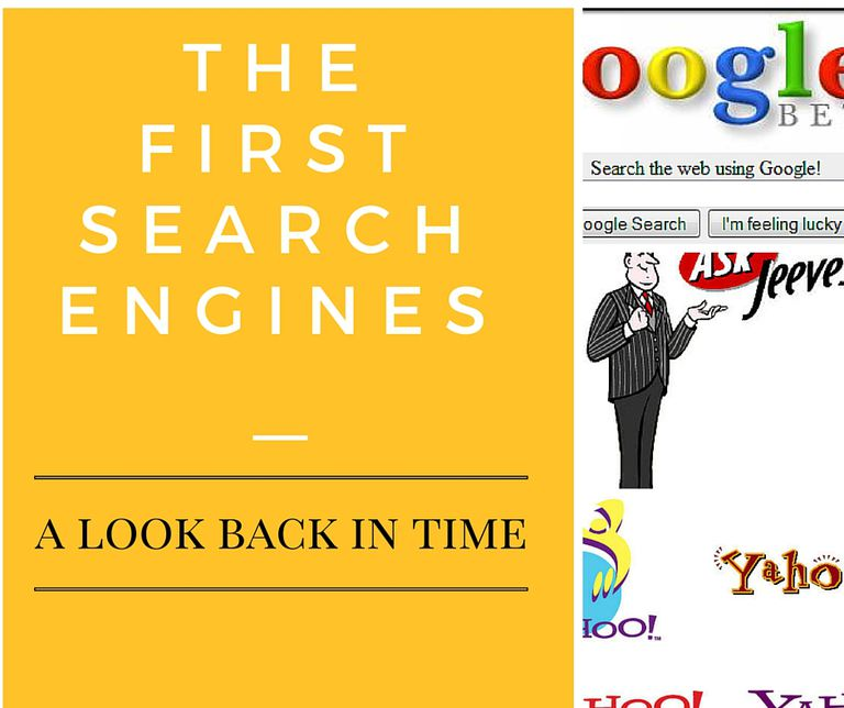 the first search engines