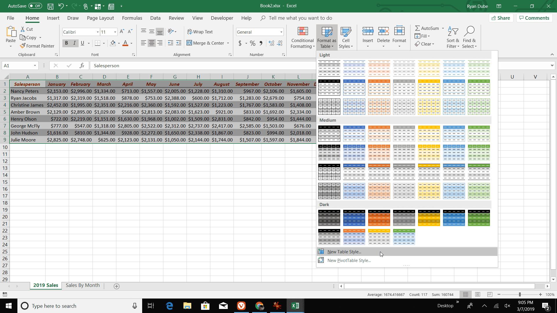 using excel u0026 39 s autoformat feature