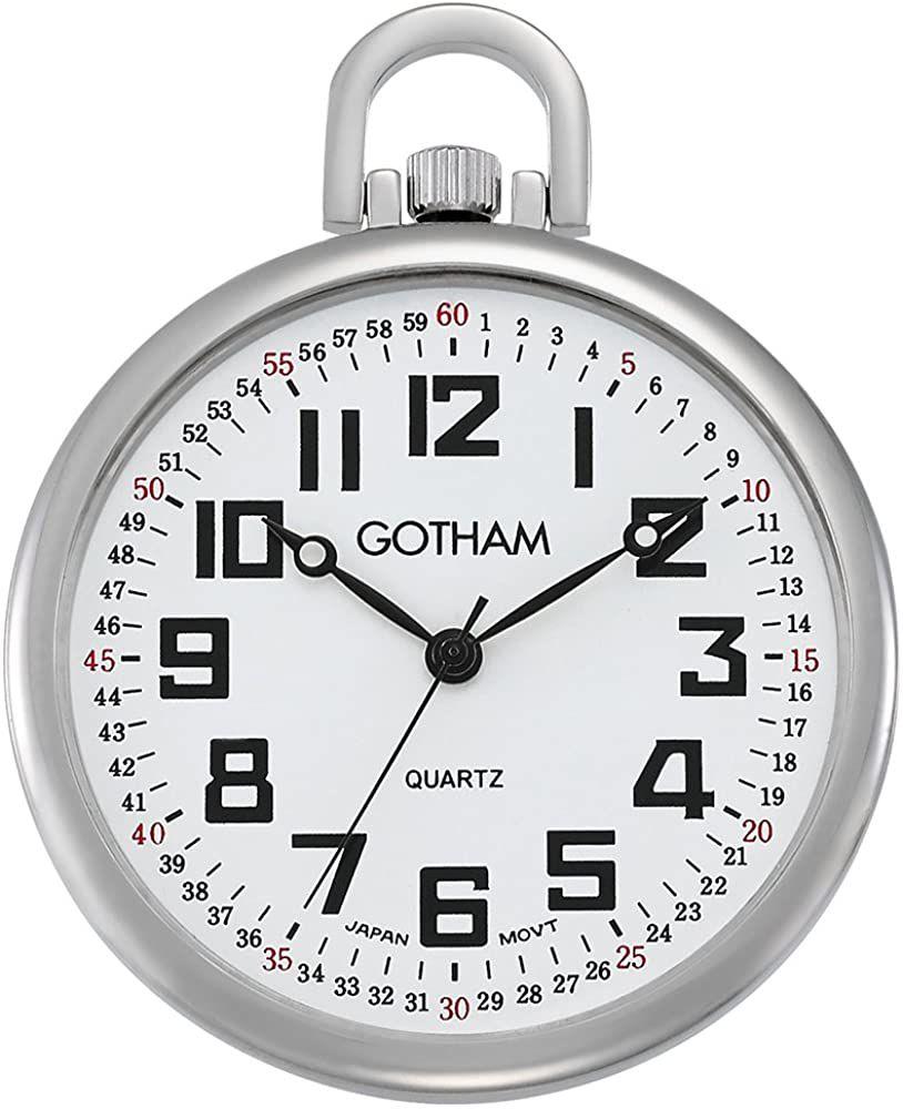 Gotham Men's RailRoad Watch
