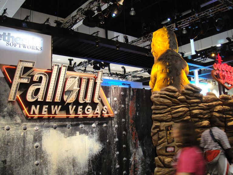 E3 2010 Bathesda games Fallout New Vegas booth