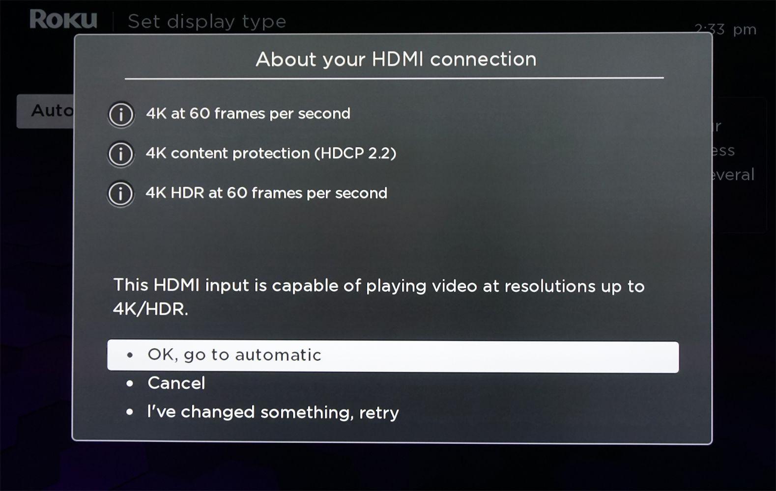 Roku Soundbar – HDMI Connection Analysis
