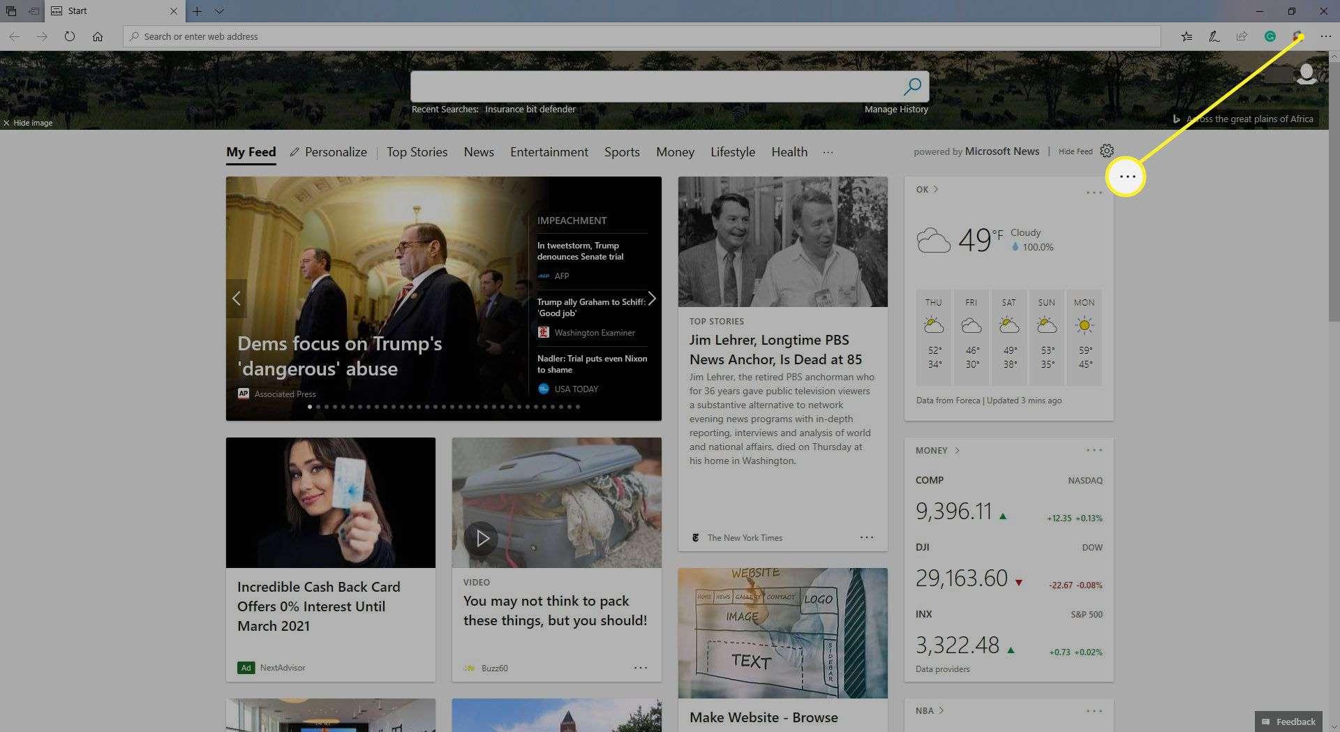 Microsoft Edge Settings and More