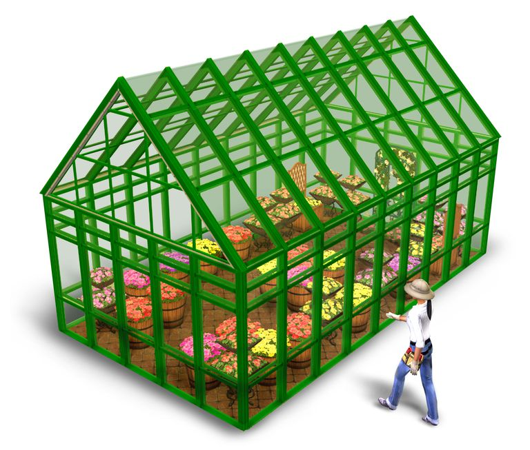 Building a Greenhouse in the Sims 2