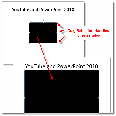 how to add youtube to powerpoint 2010