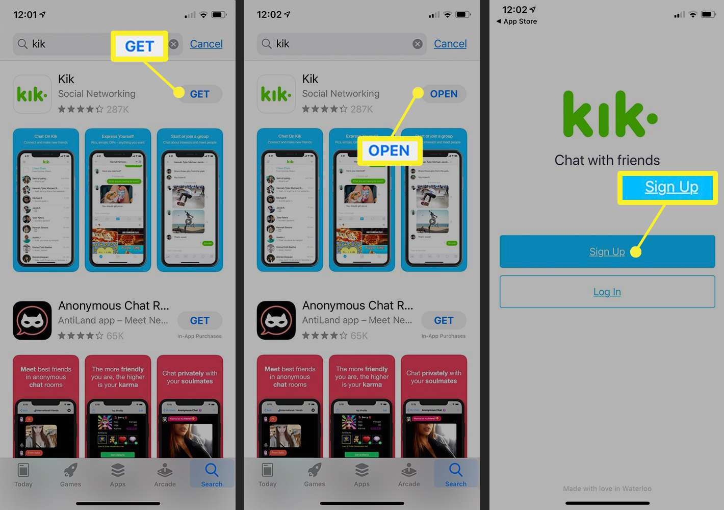 How To Download Kik On Your Iphone Ipad Or Ipod Touch