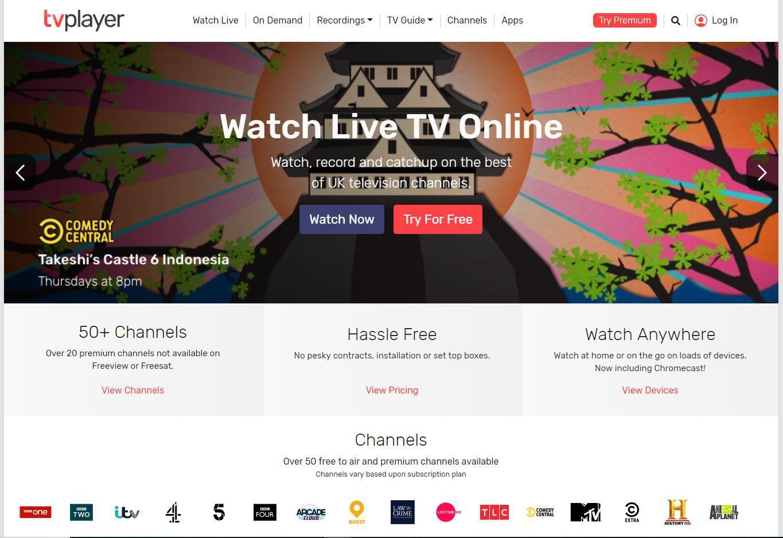 TVPlayer website