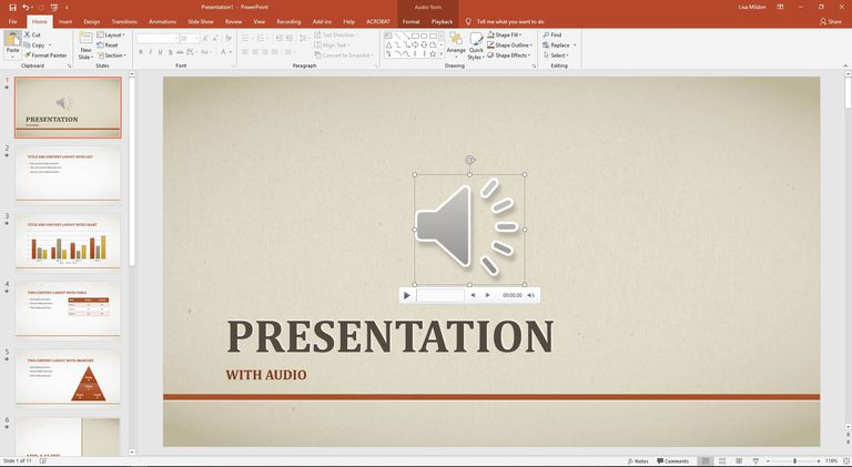 Hide Sound Icon on PowerPoint Slideshows