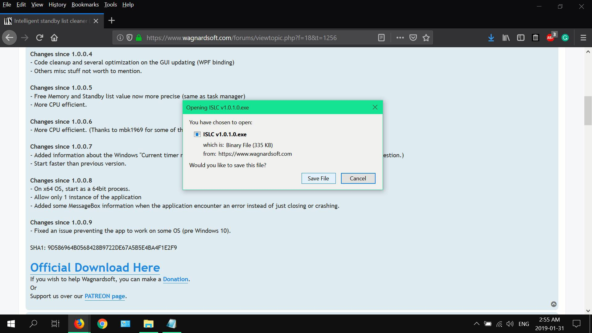 How to Fix A Windows Memory Leak