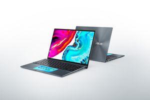 Samsung displays showcased in ASUS laptops