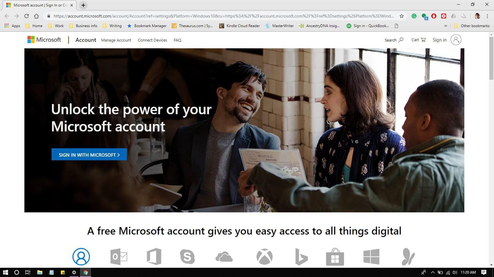 Revoke Easy Access to Outlook com on Trusted Devices