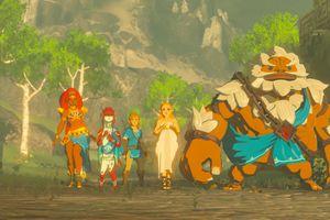 Return of Calamity Ganon cutscene in The Legend of Zelda: Breath of the Wild.