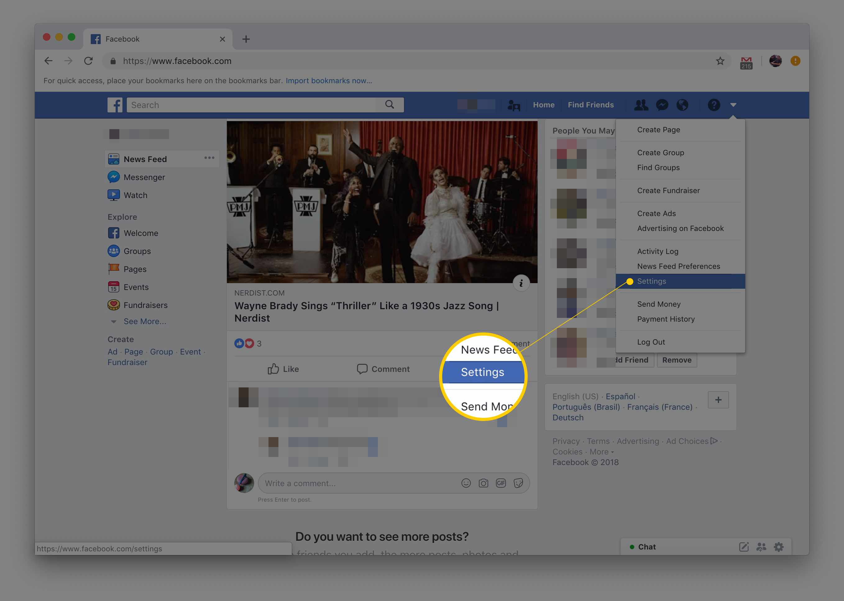 how to hide a facebook post from just one person