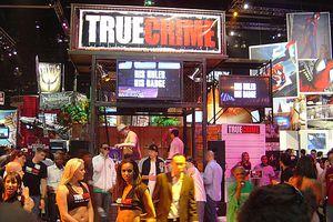 E3 2005 True Crime booth
