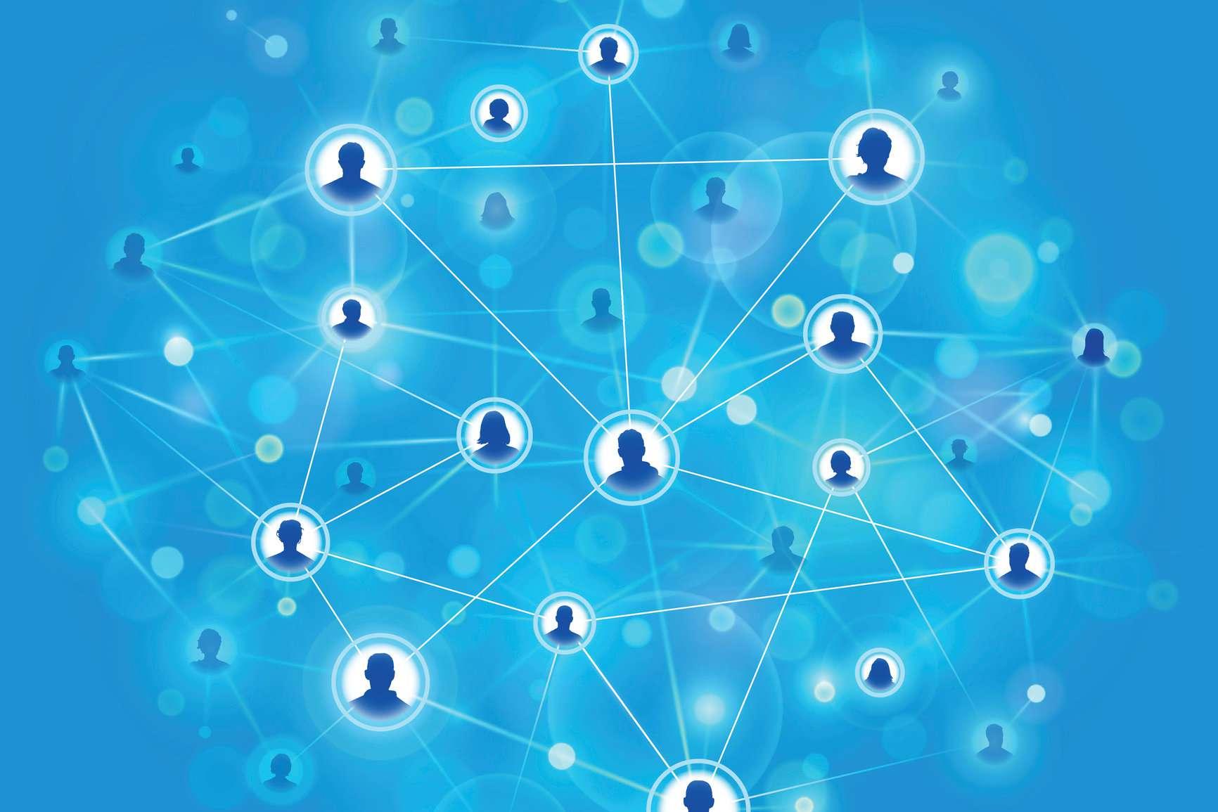 A peer-to-peer network