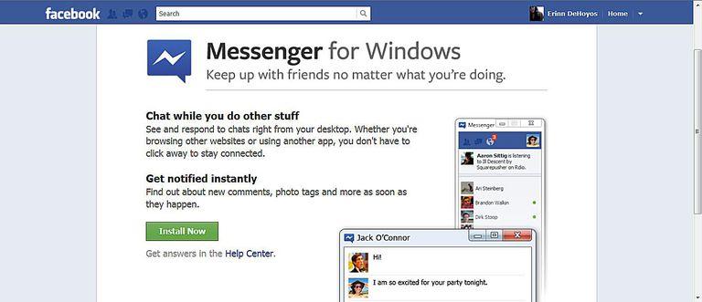 Facebook Messenger for Windows