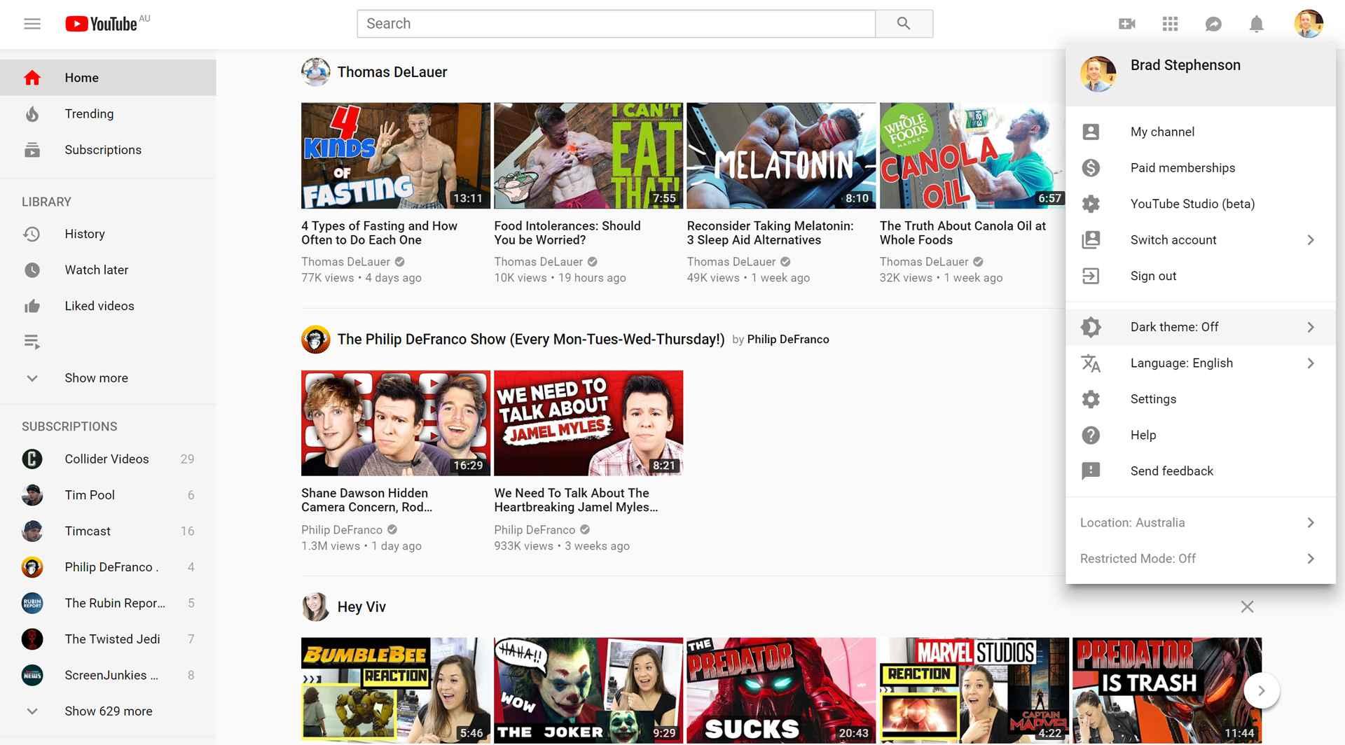 How to Turn on YouTube's Dark Theme