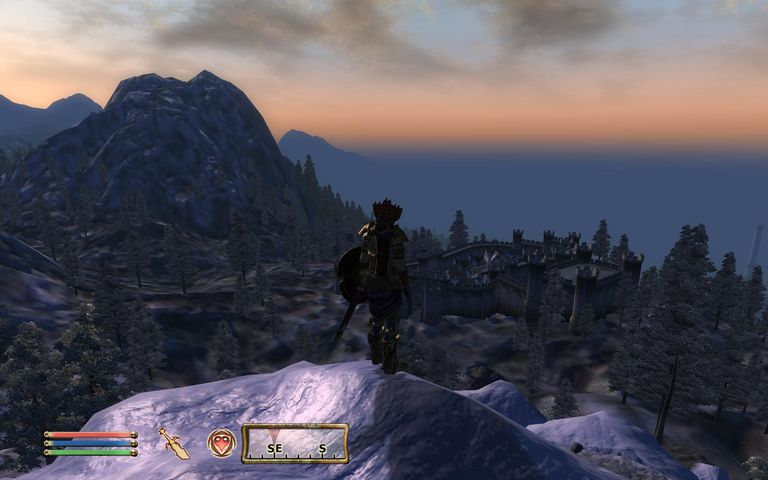 screenshot of The Elder Scrolls IV