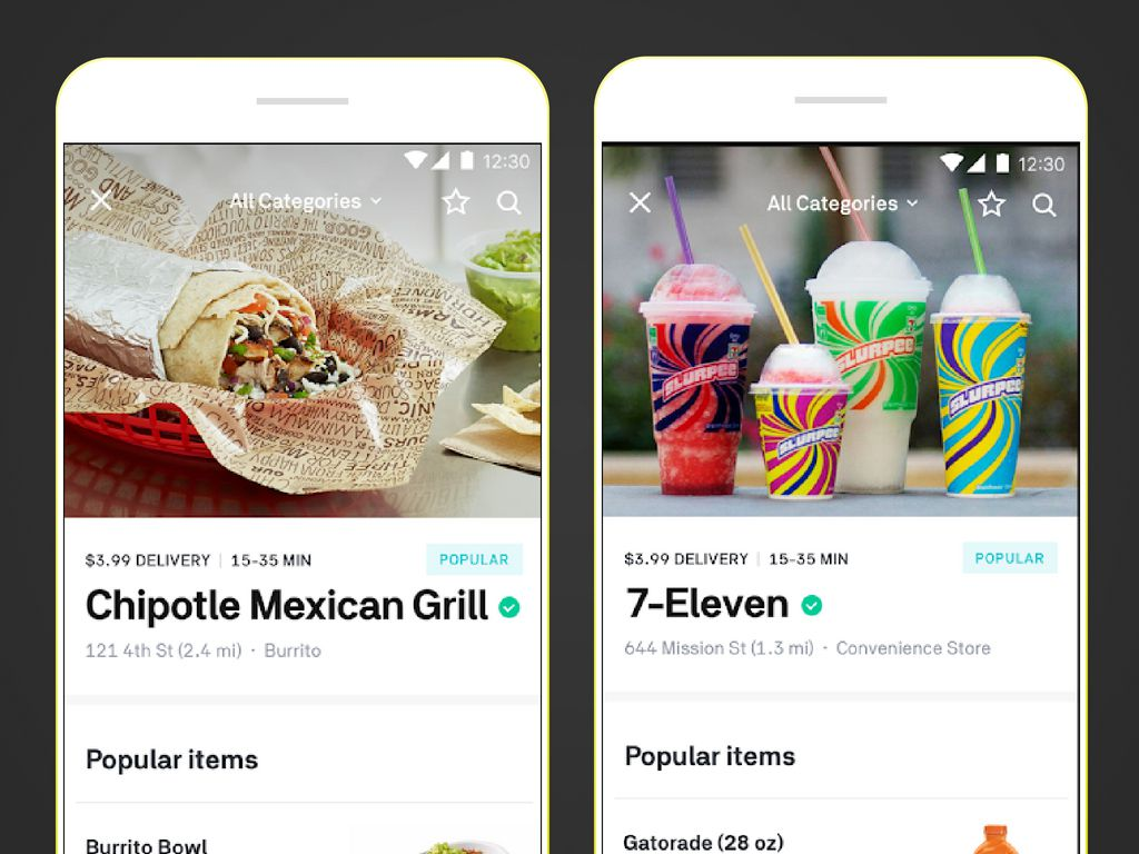 6 Popular Food Delivery Service Apps