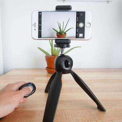 CamKix Bluetooth Camera Shutter Remote Control and Tripod