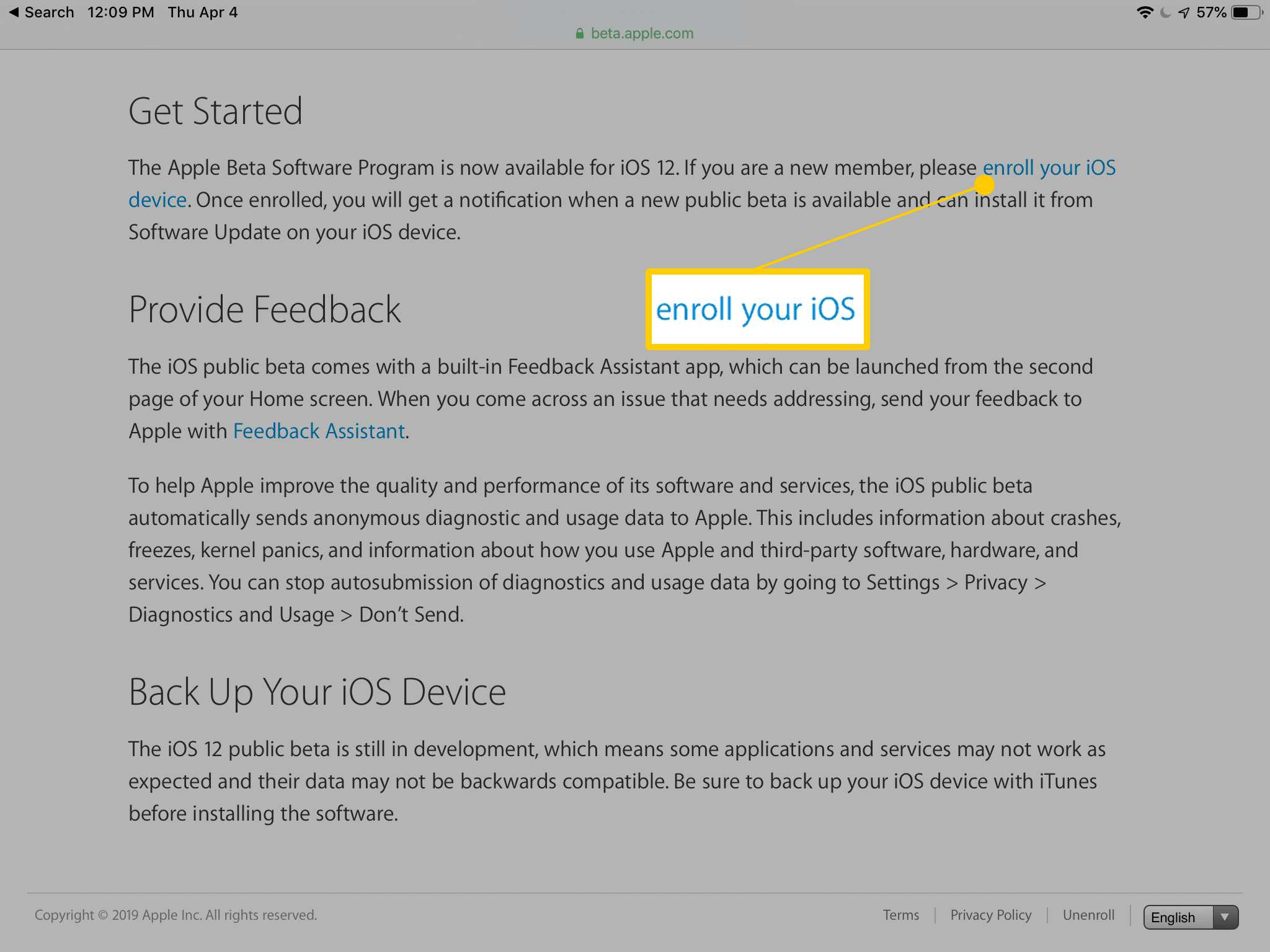 How to Sign Up for Apple's iOS Public Beta Program