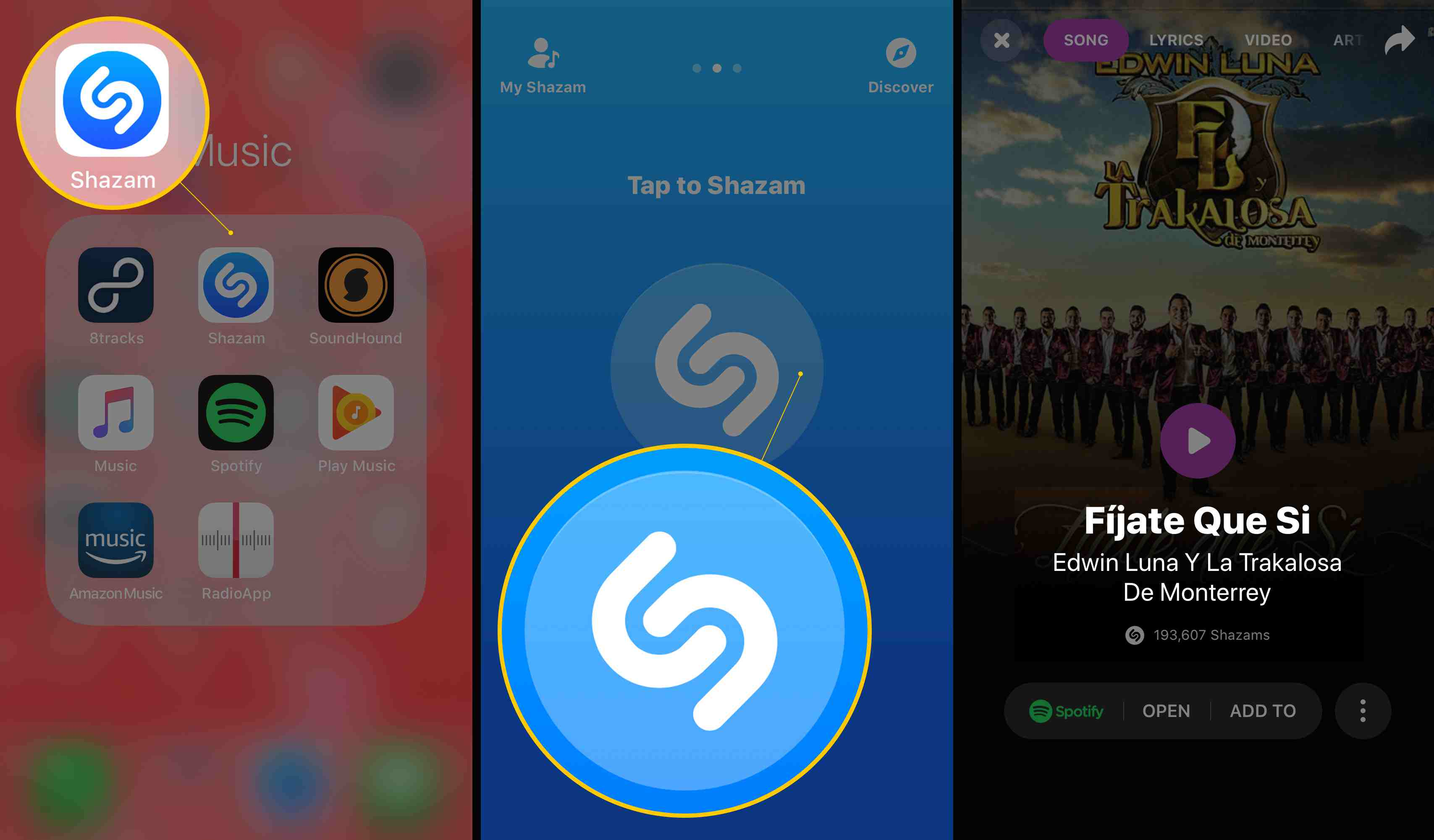 How to Shazam a Song on Your Phone