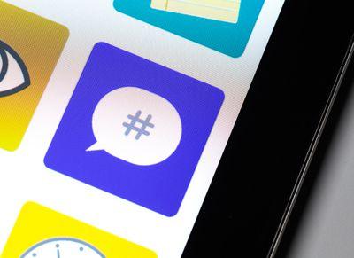 Instagram Hashtag as app icon