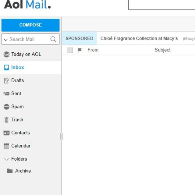 Find Aol Mail