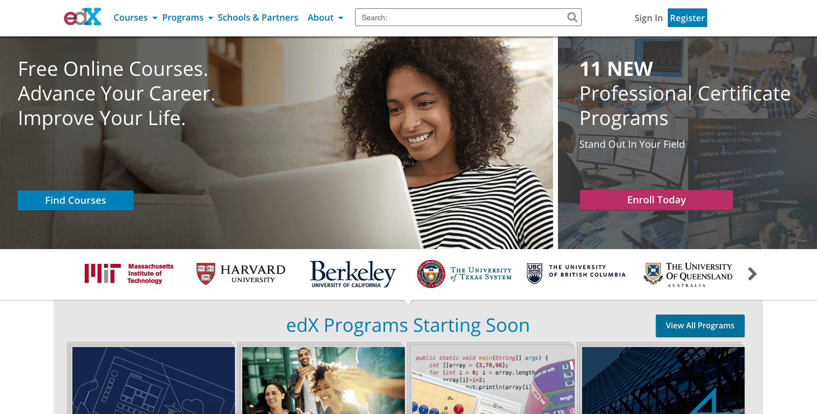 10 Educational Websites for Taking Online Courses