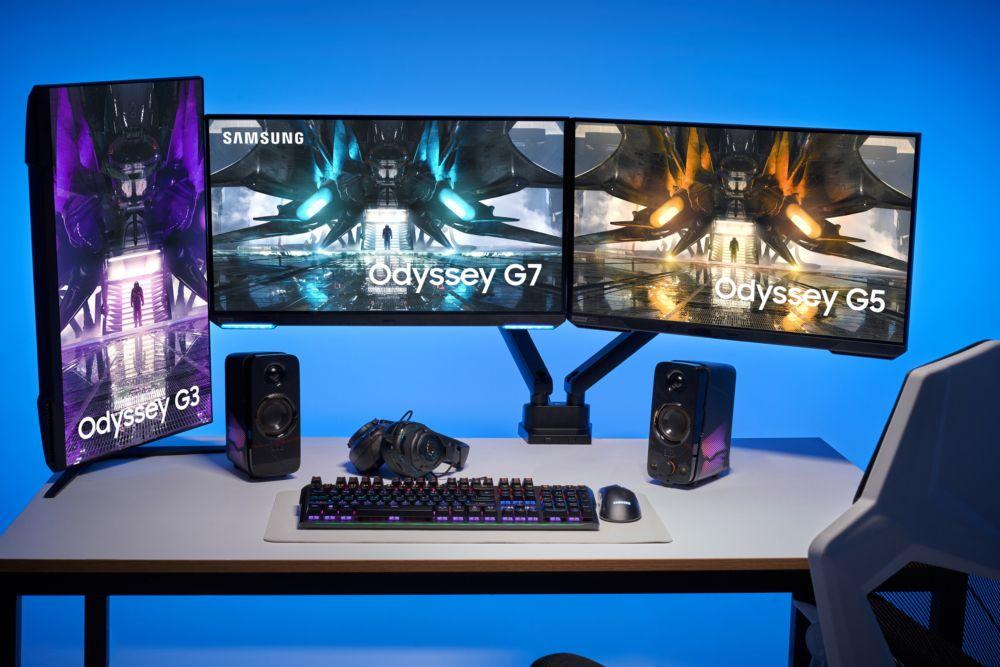 Samsung's new gaming monitors