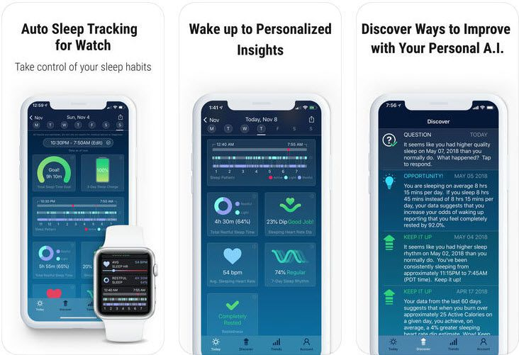 The Six Best Apple Watch Apps to Track Sleep in 2019