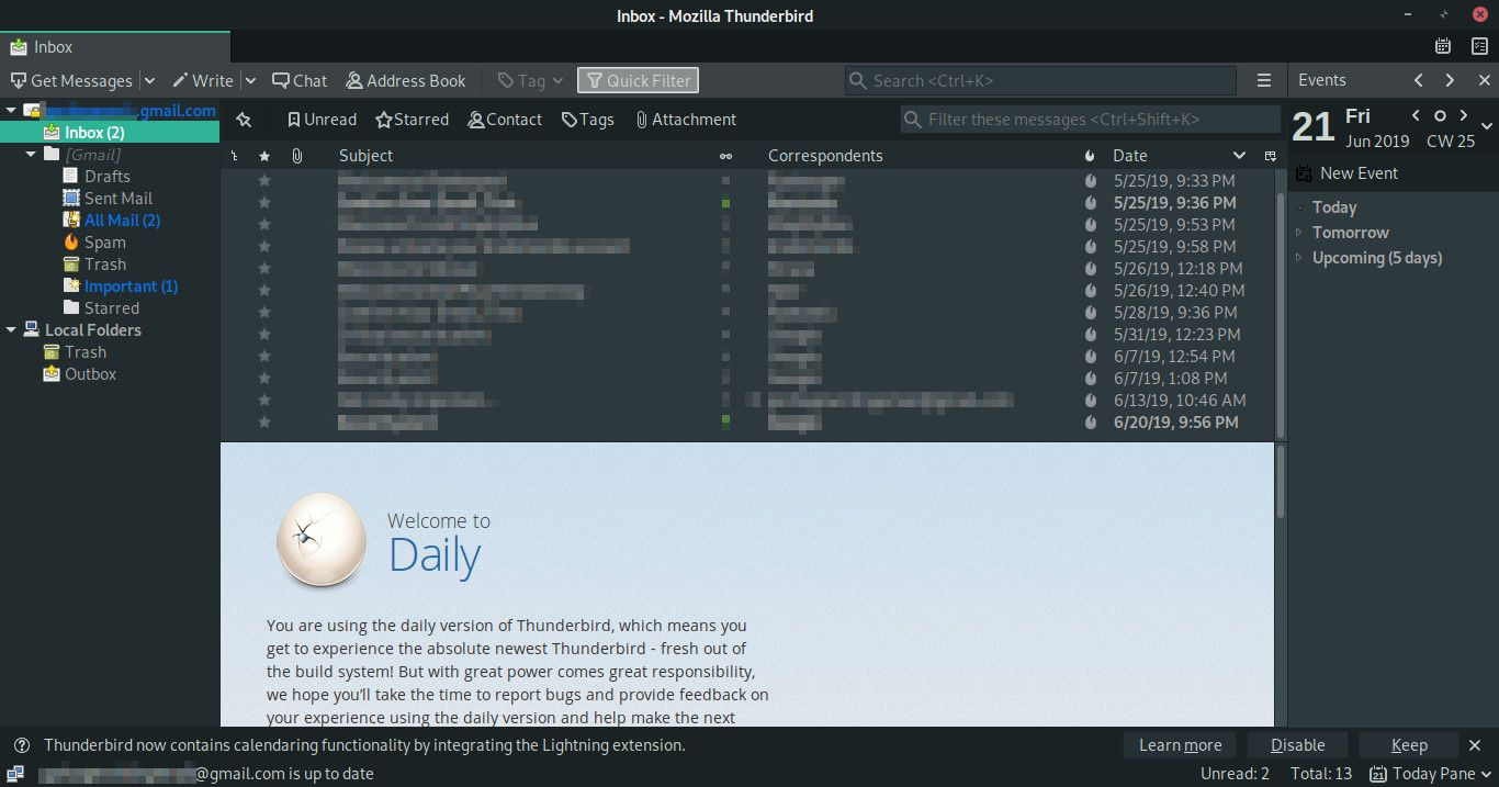 Import Email From Mozilla Thunderbird Into Gmail