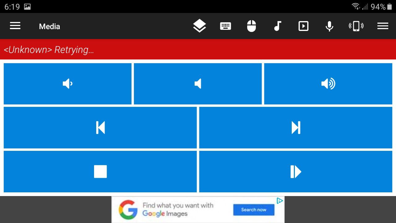Control your PC with the Unified Remote app.