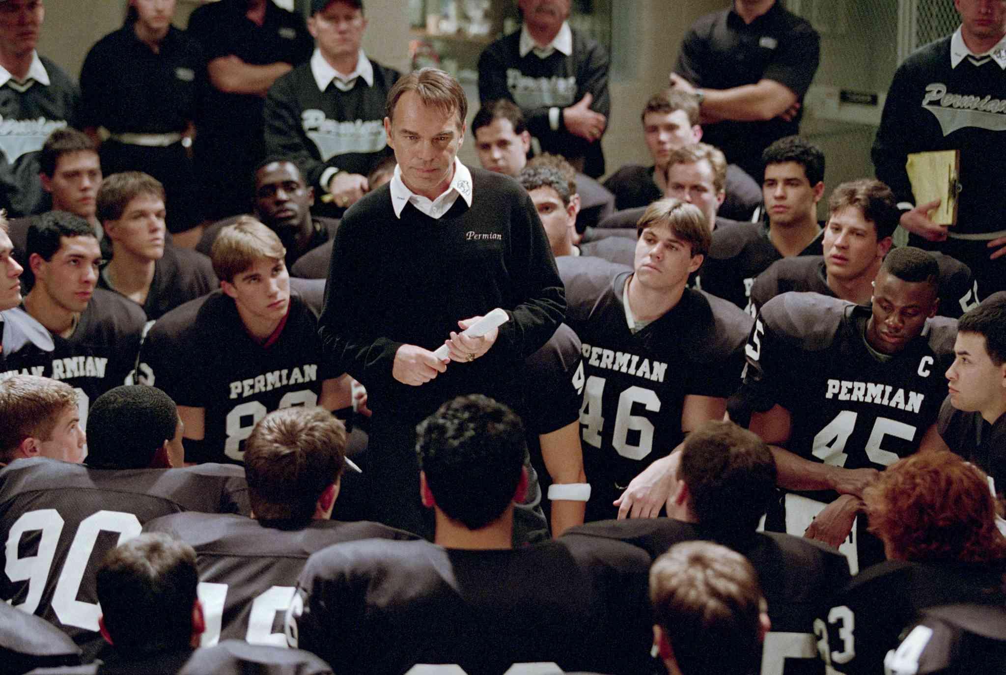 Billy Bob Thornton as Coach Gary Gaines in Friday Night Lights (2004)
