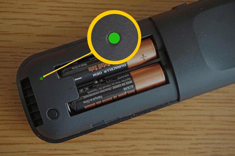 Roku Soundbar – Remote Pairing - Green Light