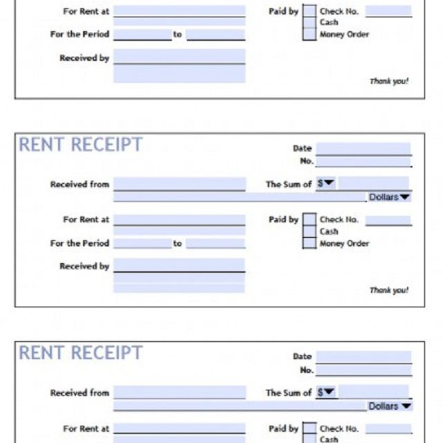 27 Free Receipt Templates for Microsoft Word