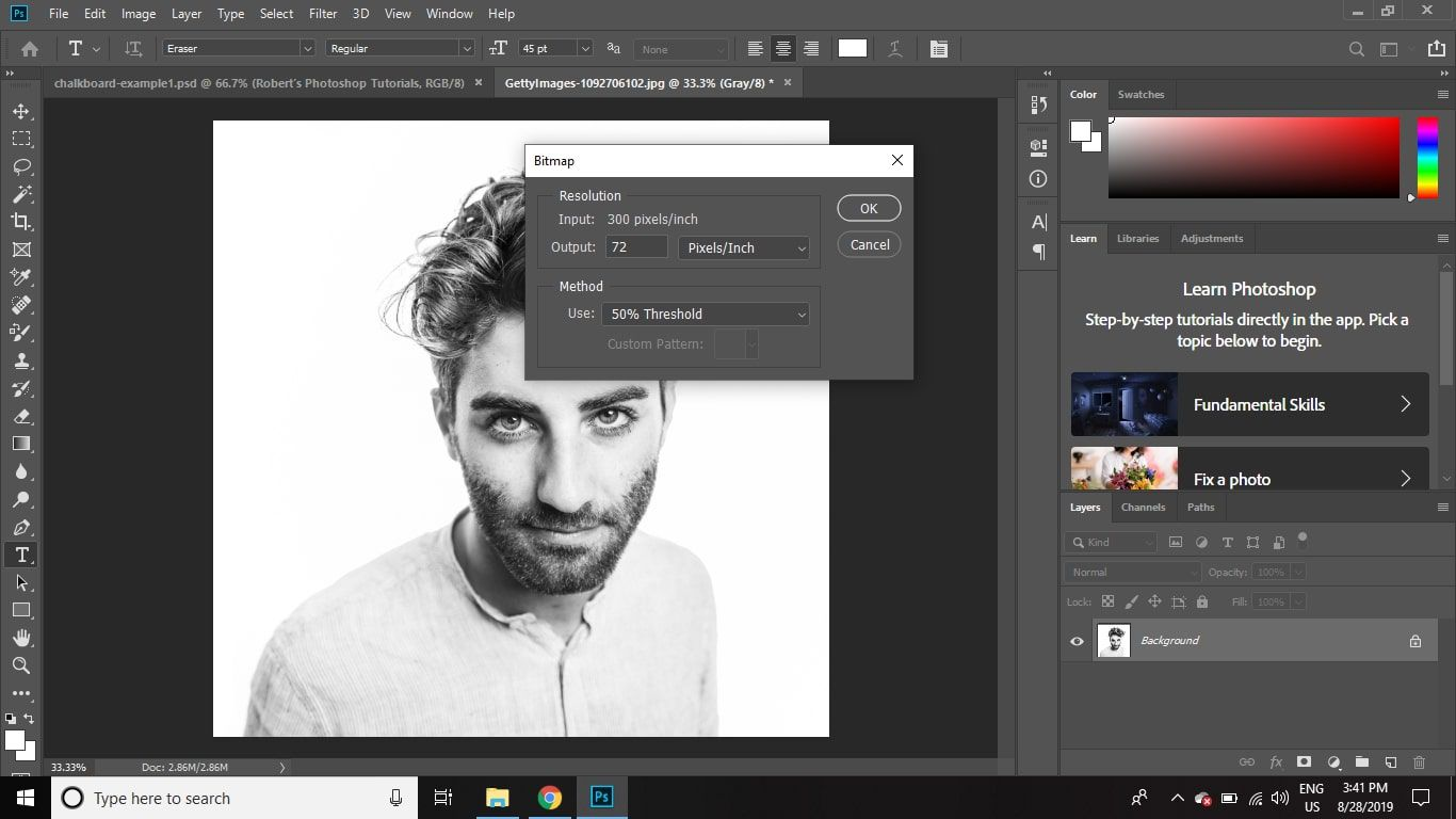 How to Create a Chalkboard Effect in Photoshop