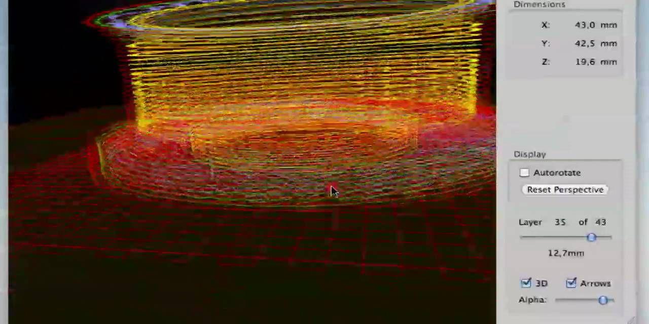 Pleasant3D STL viewer for Mac
