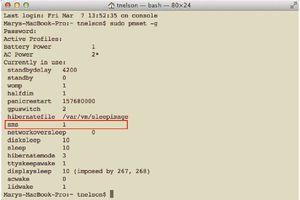 Managing the Sudden Motion Sensor (SMS) screenshot
