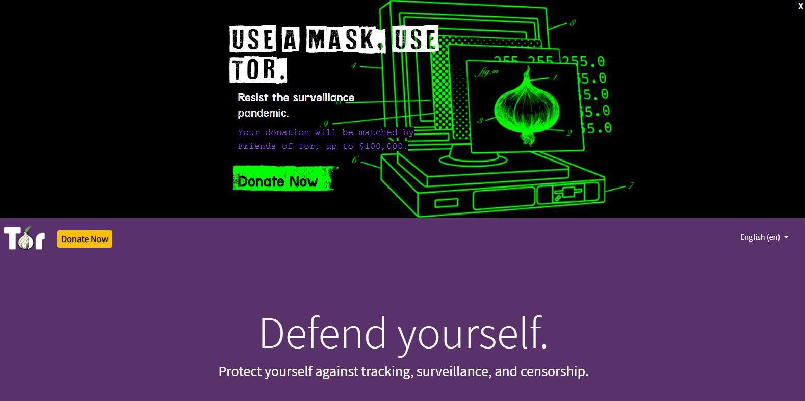 Tor Project website