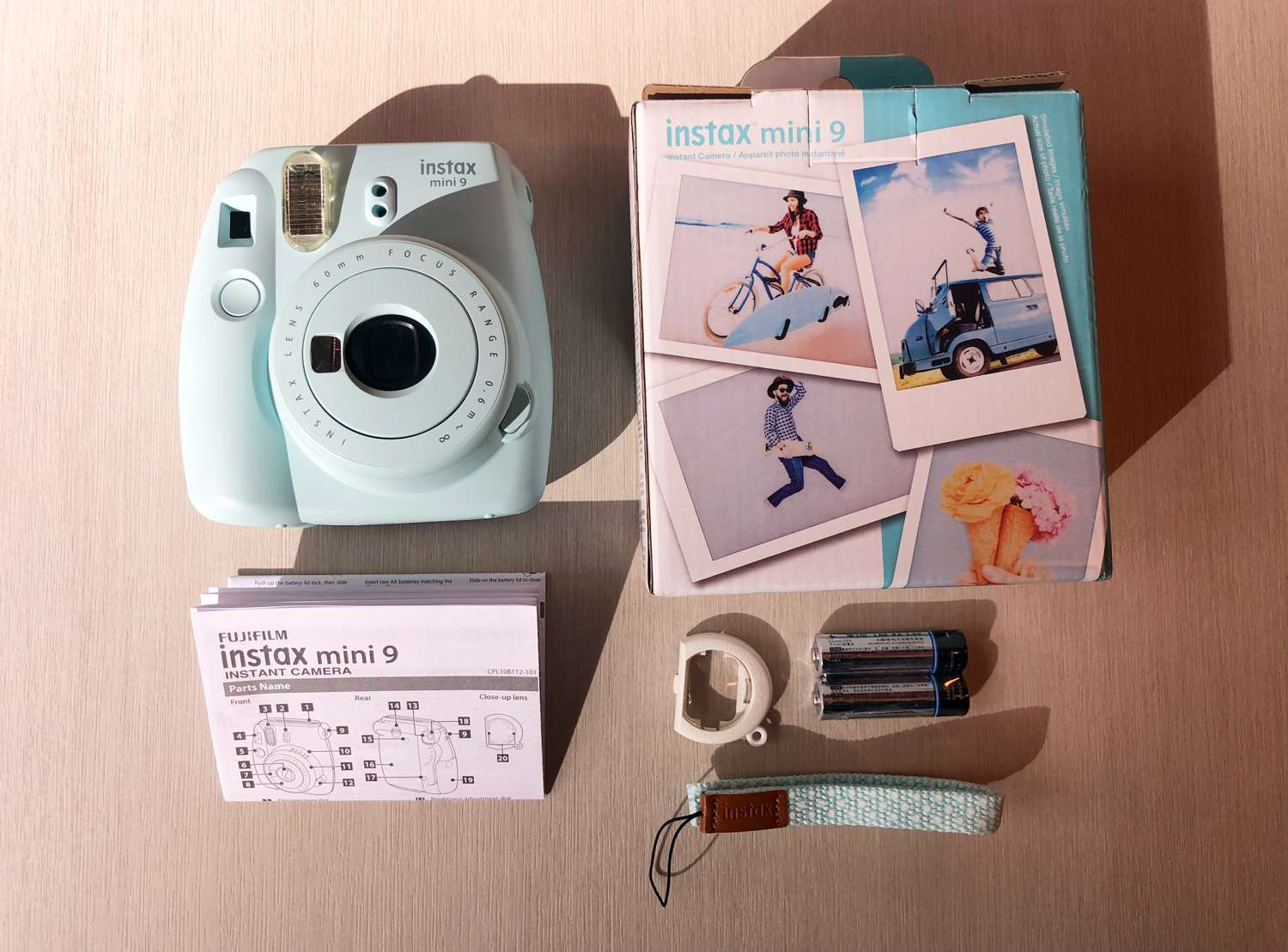 Instax Mini 9 Polaroid