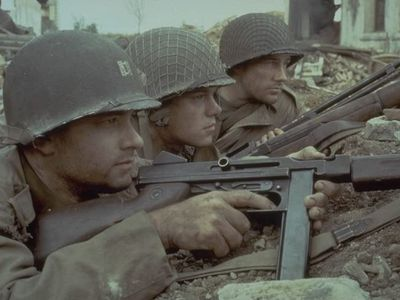 Screen capture from Saving Private Ryan