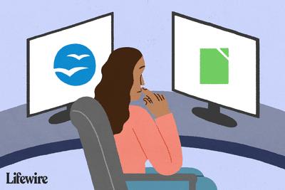 Illustration of LibreOffice vs OpenOffice