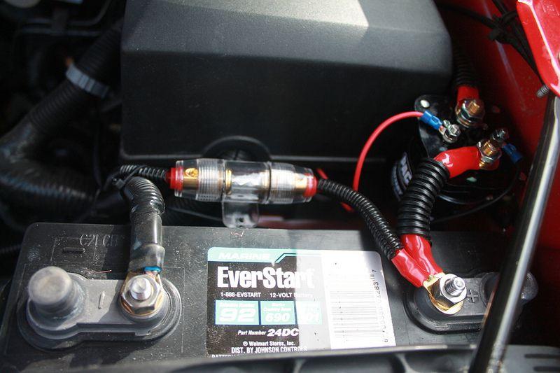 Car amp fuse